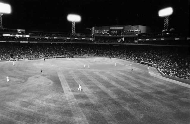 View of Fenway from monster seats (April, 2003)