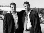 My cousins, Matt and Jon Duch at Jon's college graduation (May, 2004)