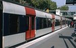 RER (commuter rail) train from CDG to downtown Paris