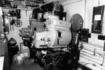 Avon Cinema projection booth, Providence, RI. (Summer, 2003)