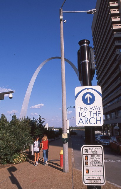 This may just be the most useless sign in St. Louis.