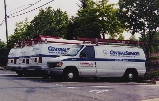 """""""Central Services"""" in northern Virginia; I guess these people never saw the film """"Brazil"""" (!) (Spring, 2001)"""