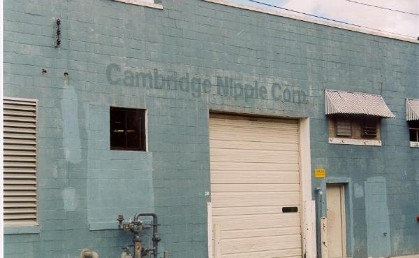Cambridge Nipple Corp. (what were they thinking when they named that company???) (Fall, 2001)