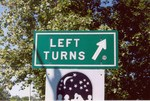 Actual sign on Storrow Drive in Boston, MA.