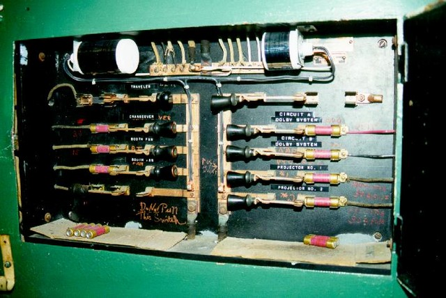 Knife switches (Summer, 2000)