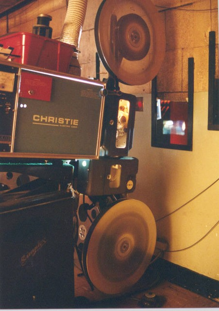 Film running off 6000' reels (spring, 1999)