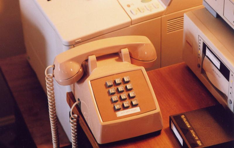 desk phone:  Western Electric 2500 set