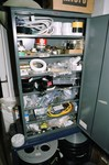 parts cabinet with spare parts