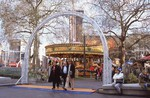 carousel in Leicester Square
